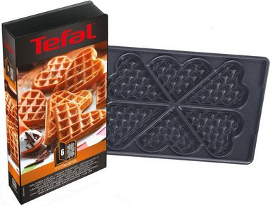 tefal platte herzwaffeln xa8006 zubeh r snack collection online kaufen otto. Black Bedroom Furniture Sets. Home Design Ideas