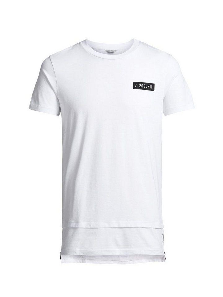 Jack & Jones Detailliertes T-Shirt in White