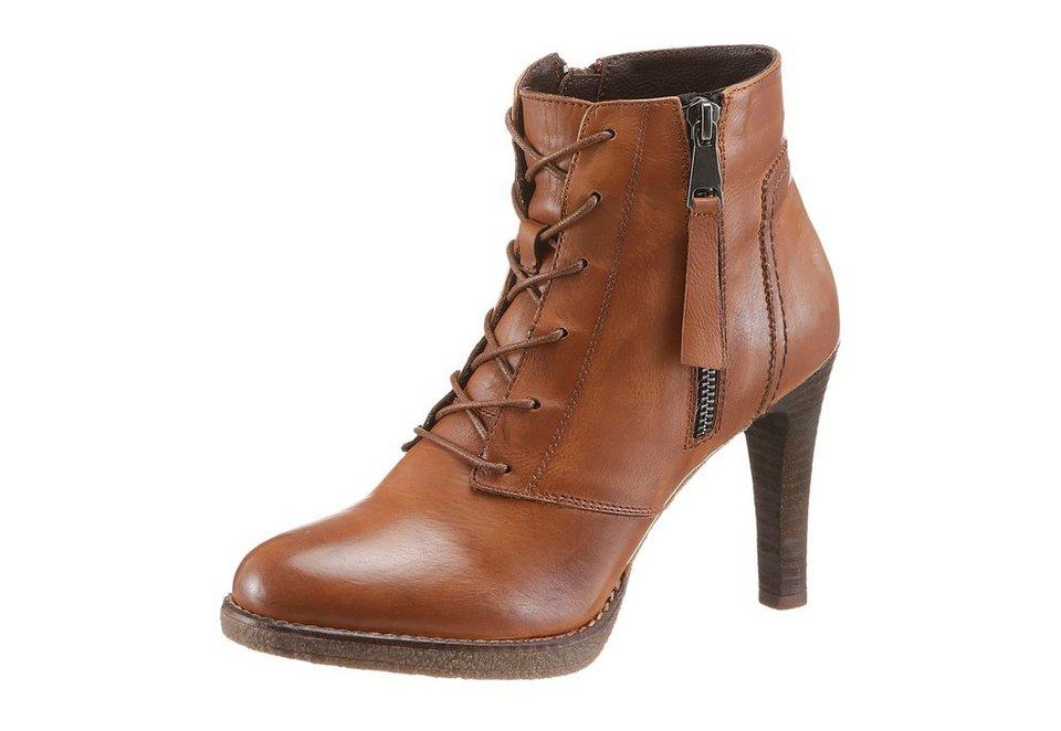Spm High-Heel-Stiefelette in braun