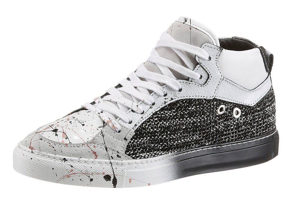 NOCLAIM Sneaker im Fancy-Style in weiß-schwarz
