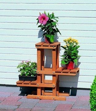 Blumenpodest (3 Ebenen)