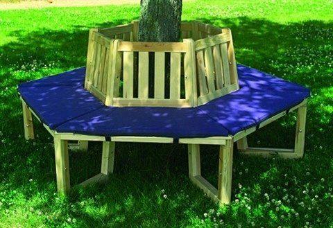 Sitzauflage für Baumbank