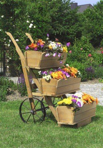 Set: Blumenkasten (3 Stk.) in braun