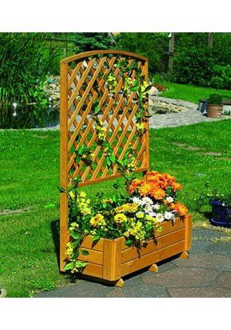 PROMADINO Ažūrinė sienelė gėlėms su Lauko vazona...