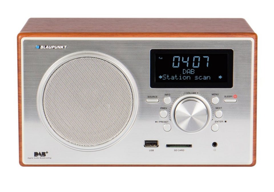 blaupunkt digitales dab ukw radio lcd display und usb. Black Bedroom Furniture Sets. Home Design Ideas