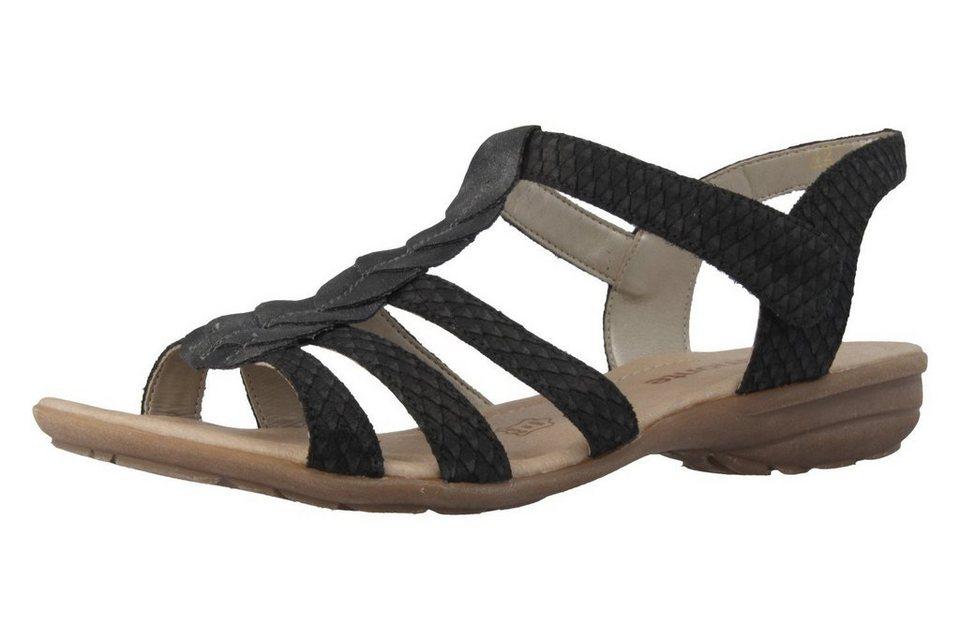 Remonte Sandalen in Schwarz