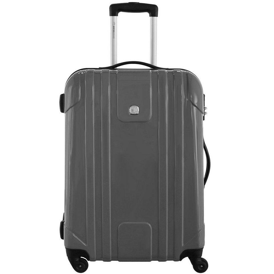 Wenger Luggage Reisegepäck PC Lite 4-Rollen Kabinentrolley 55 cm in grau