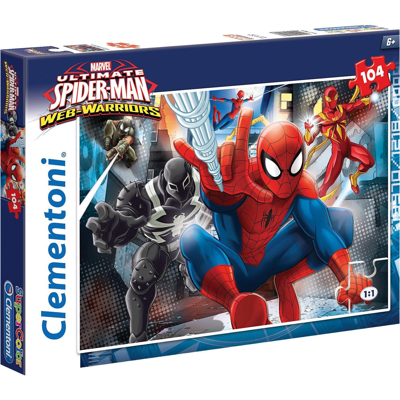 Clementoni Puzzle 104 Teile - Spiderman