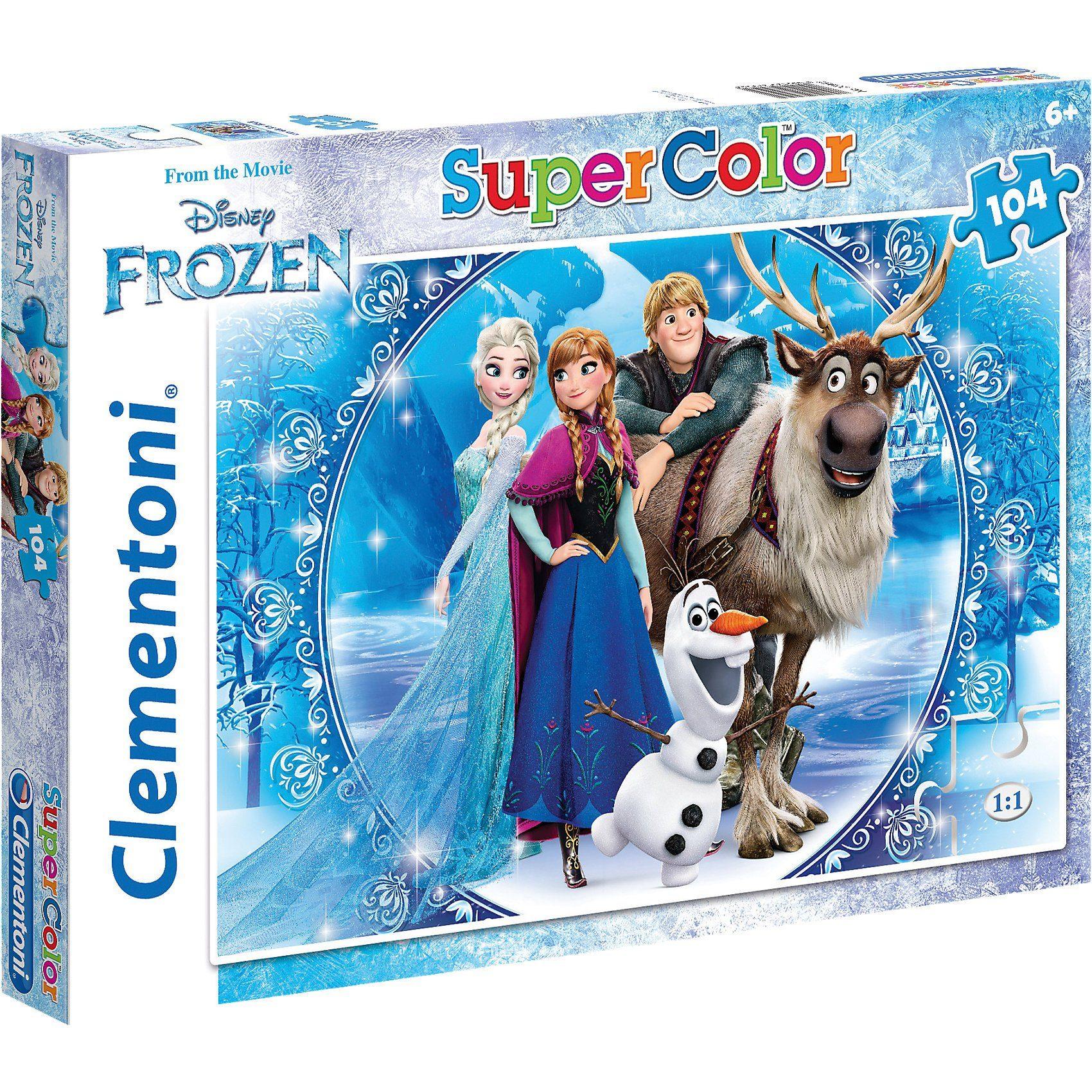 Clementoni Puzzle 104 Teile - Eiskönigin