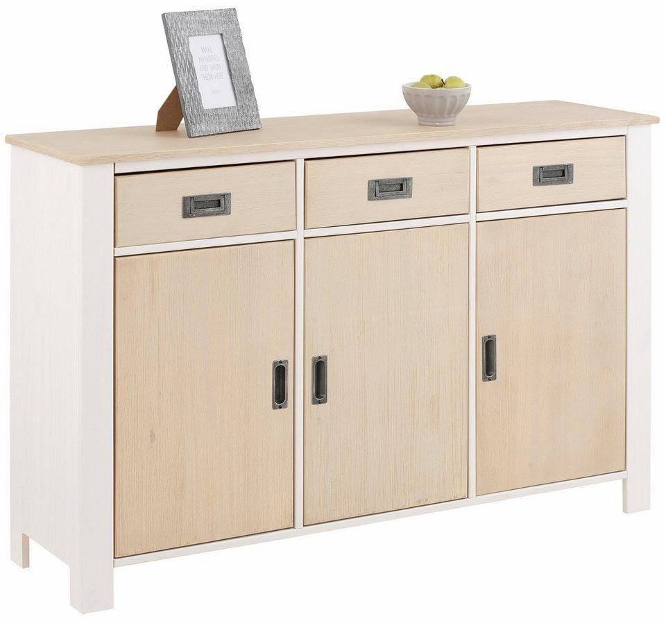 home affaire sideboard madagaskar breite 125 cm otto. Black Bedroom Furniture Sets. Home Design Ideas