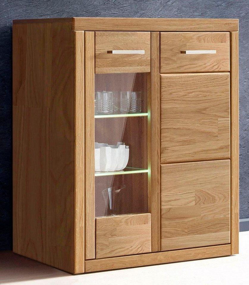 kleine vitrine h he 100 cm 2 t ren online kaufen otto. Black Bedroom Furniture Sets. Home Design Ideas