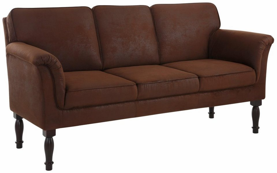 home affaire 3 sitzer k chensofa lancaster mit federkern ideal als speisem bel online kaufen. Black Bedroom Furniture Sets. Home Design Ideas
