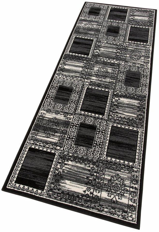Läufer, Home affaire Collection, »Esme«, gewebt in schwarz