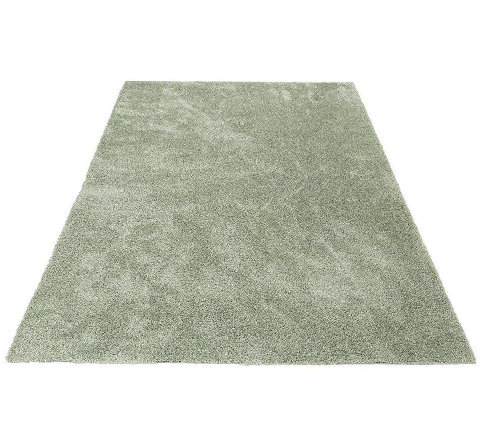 Hochflor-Teppich, my home, »Irma«, Höhe 32 mm, gewebt in grün