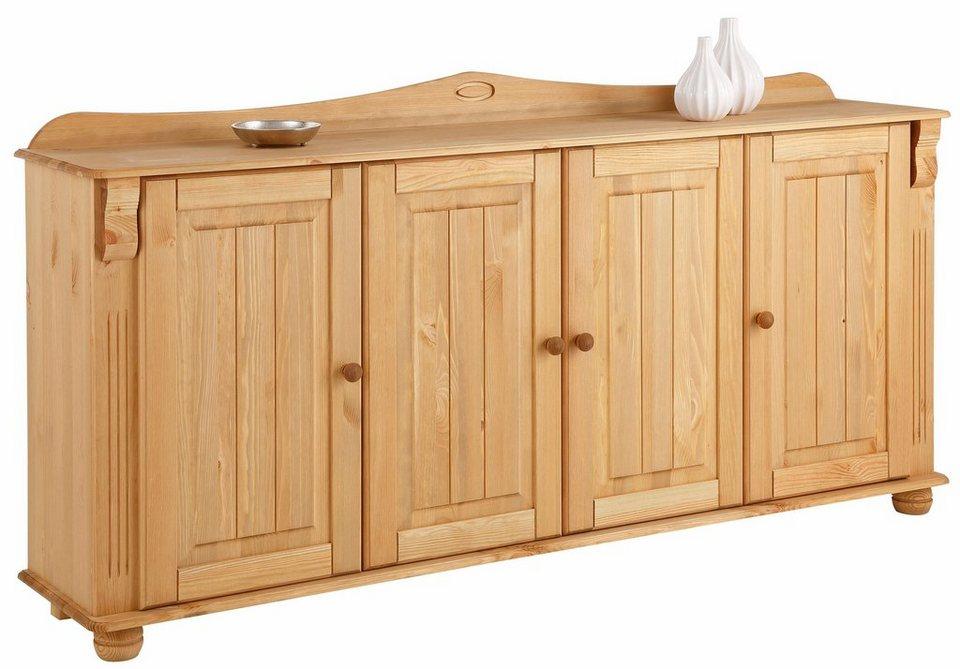 home affaire sideboard adele 4 t rig breite 180 cm. Black Bedroom Furniture Sets. Home Design Ideas
