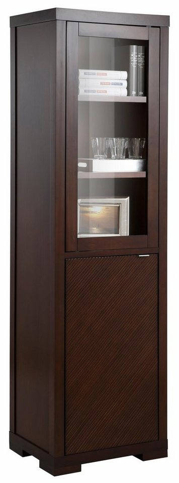 home affaire vitrine oregon 1trg h he 190 cm otto. Black Bedroom Furniture Sets. Home Design Ideas