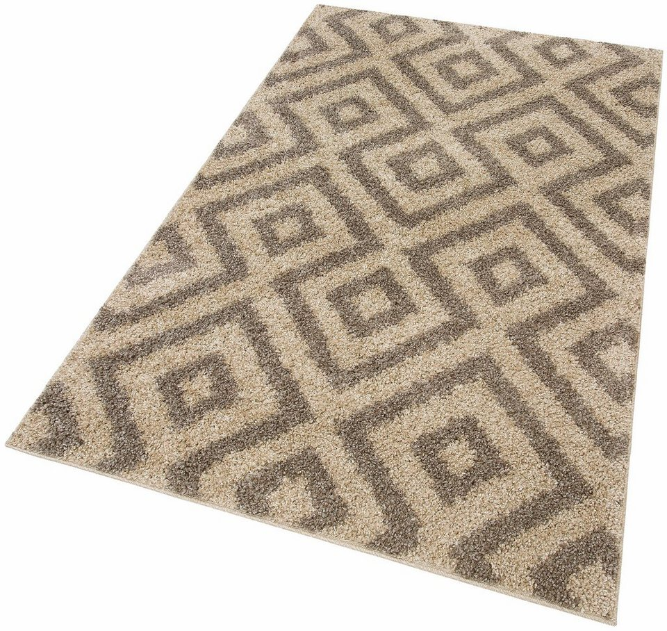 Hochflor-Teppich, Home affaire Collection, »Mabel«, Höhe 30 mm, gewebt in sand