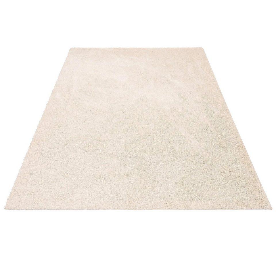 Hochflor-Teppich, my home, »Irma«, Höhe 32 mm, gewebt in creme