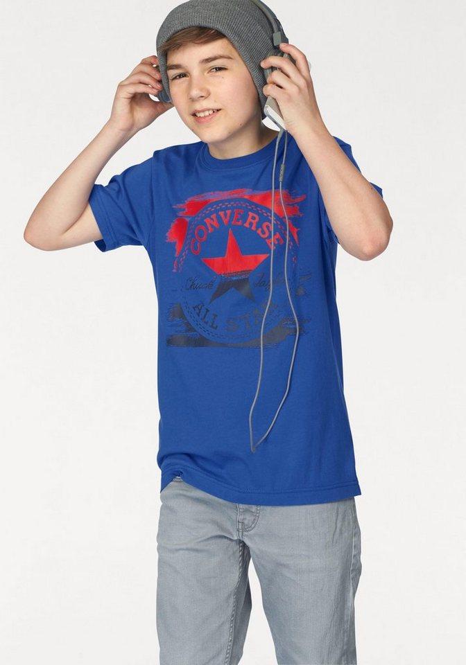 Converse T-Shirt in grau
