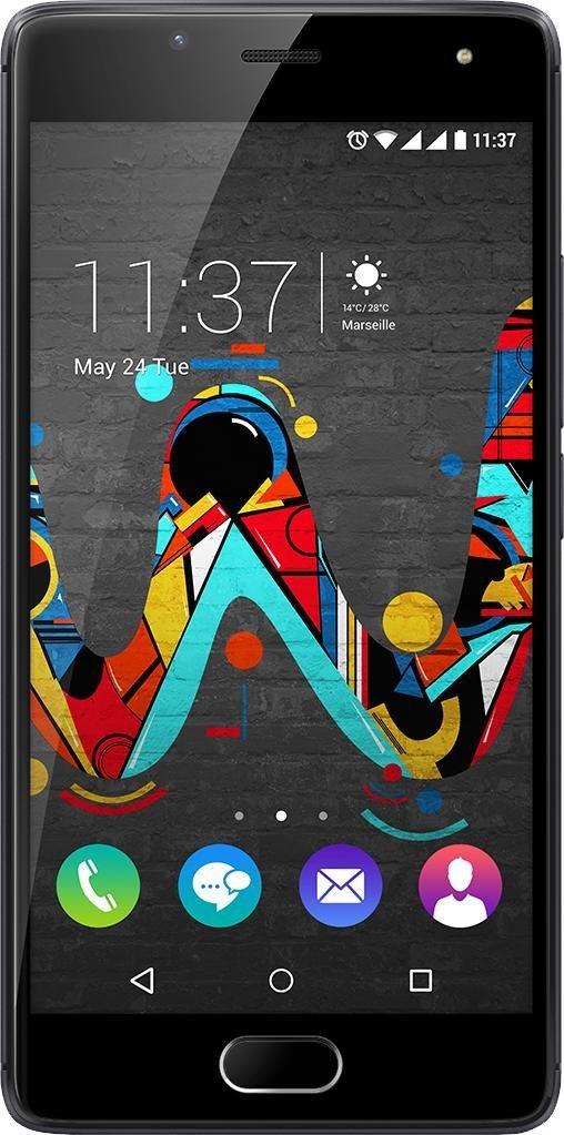 Wiko U Feel Smartphone, 12,7 cm (5 Zoll) Displa...