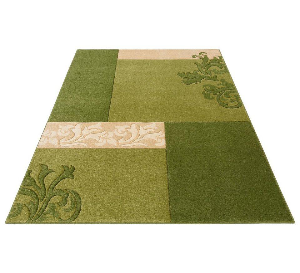 Teppich, Home affaire Collection, »Jari«, gewebt in grün