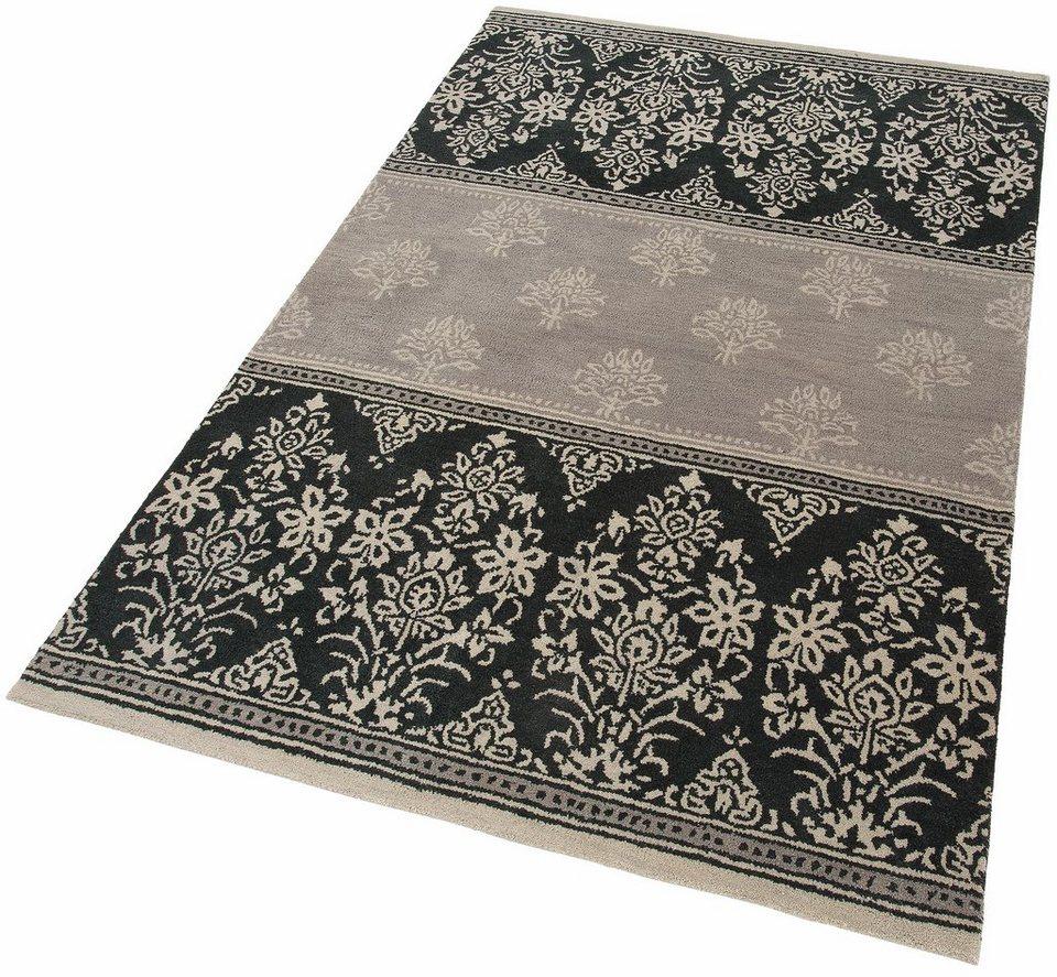 Teppich, Home affaire Collection, »Allegra«, reine Schurwolle, handgetuftet in grau