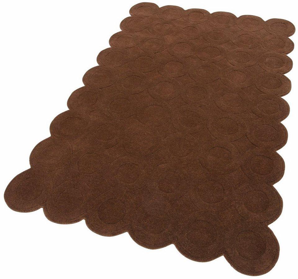 Teppich, Home affaire Collection, »Mady«, handgetuftet in braun