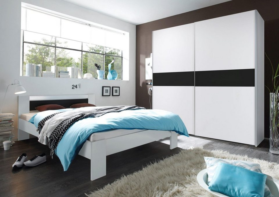 schlafzimmer set 2 tlg online kaufen otto. Black Bedroom Furniture Sets. Home Design Ideas