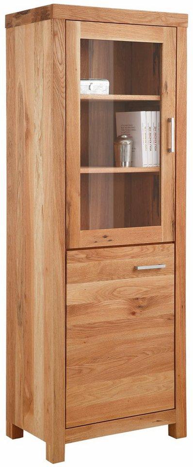 Premium collection by Home affaire Vitrine »Madreira«, Breite 70 cm in Wildeiche geölt