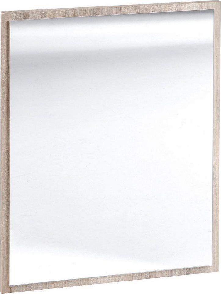 Spiegel »Simply« in eichefarben