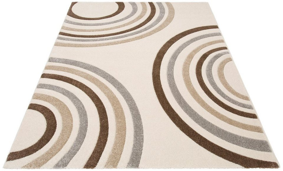 Teppich, Home affaire Collection, »Tamika«, gewebt in creme