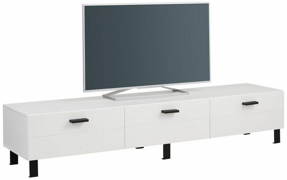 Home affaire Lowboard »Brooklin«, Breite 180 cm in weiß