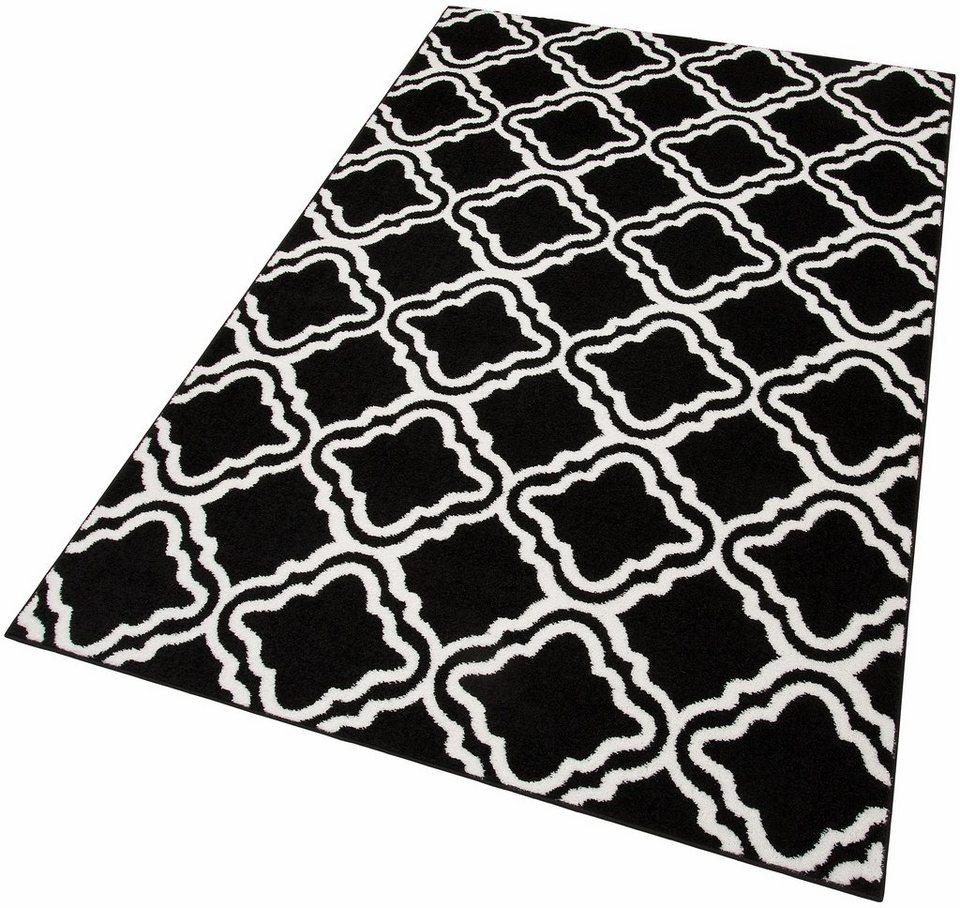 Teppich, my home, »Debora«, gewebt in schwarz