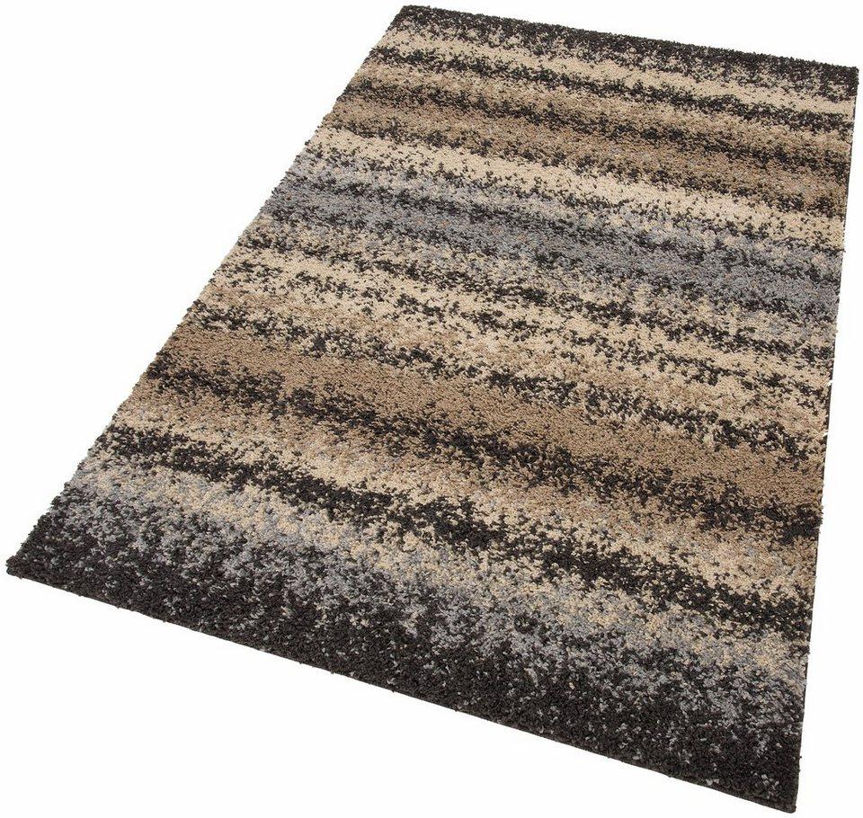 Hochflor-Teppich, my home, »Fabia«, Höhe 30 mm, gewebt in beige