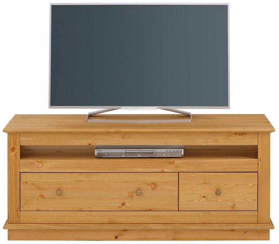 home affaire tv lowboard raul breite 131 cm otto. Black Bedroom Furniture Sets. Home Design Ideas
