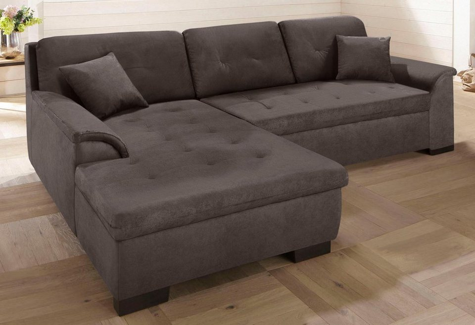 home affaire xxl ecksofa bergen wahlweise mit. Black Bedroom Furniture Sets. Home Design Ideas