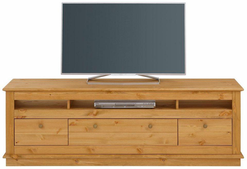 home affaire tv lowboard raul breite 169 cm otto. Black Bedroom Furniture Sets. Home Design Ideas