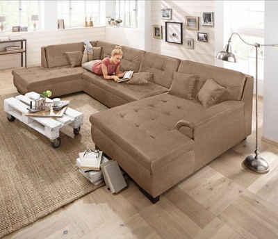 wohnlandschaft online kaufen » sofa in u-form   otto, Attraktive mobel