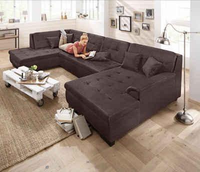 Ecksofa rustikal  XXL Sofa & XXL Couch online kaufen | OTTO
