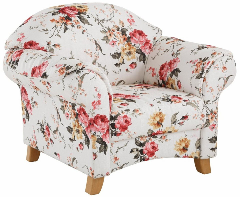 Home Affaire Sessel Mayfair Mit Blumenmuster Otto