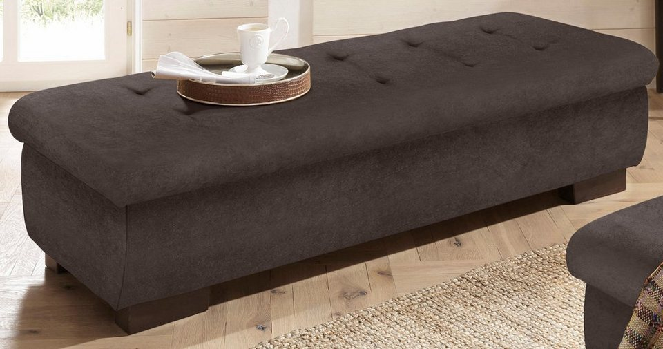 home affairre hocker bergen mit staufach 161 cm breit online kaufen otto. Black Bedroom Furniture Sets. Home Design Ideas