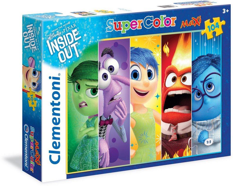 Clementoni Puzzle, 104 Teile, »Disney Pixar Alles steht Kopf«