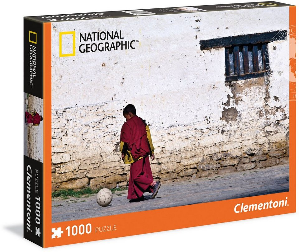 Clementoni Puzzle, 1000 Teile, »National Geographic Young Buddhist Monk«