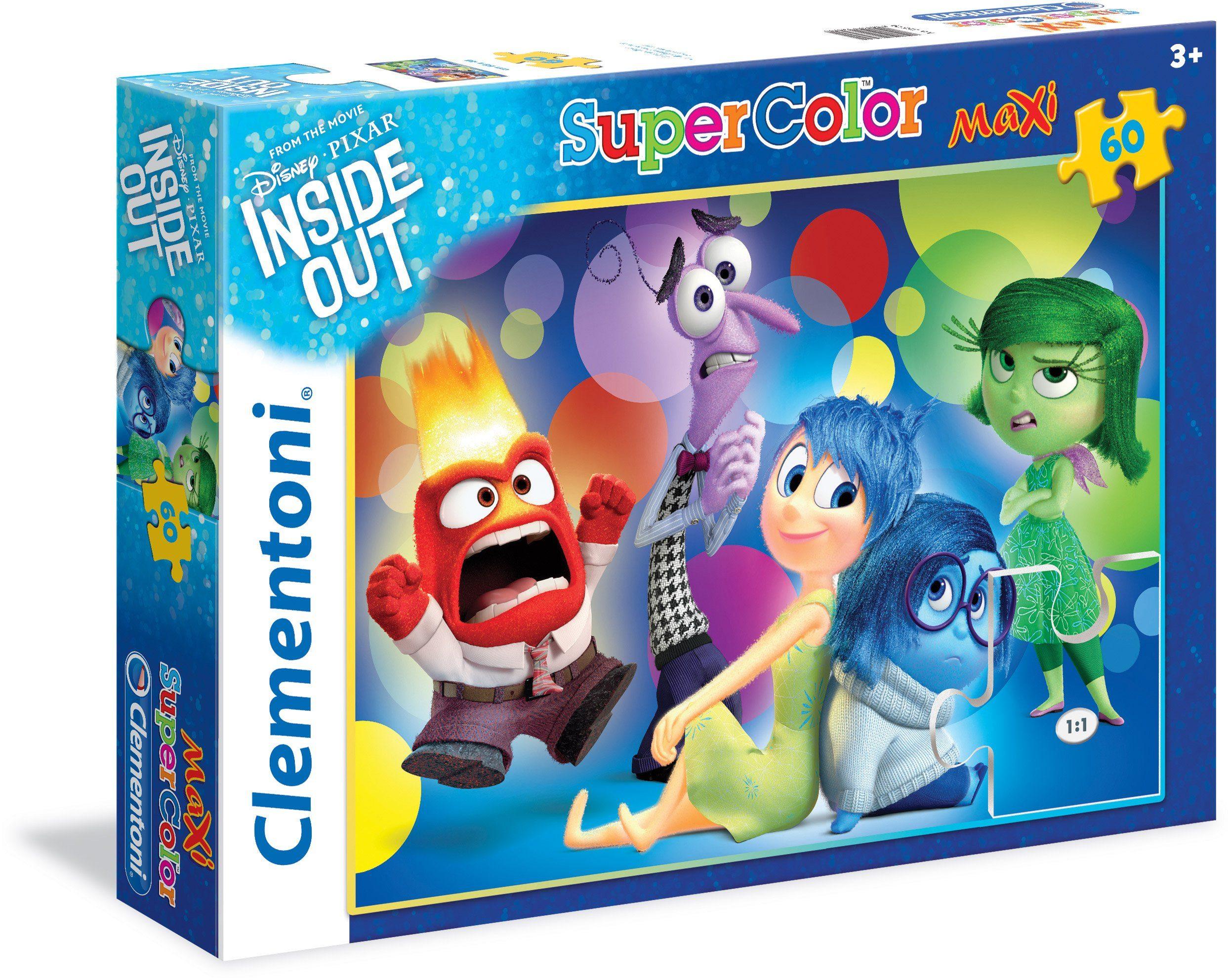 Clementoni Puzzle, 60 Teile, »Disney Pixar Alles steht Kopf«