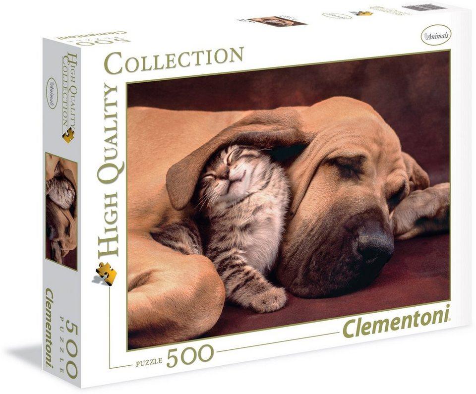 Clementoni Puzzle, 500 Teile, »Cuddles«