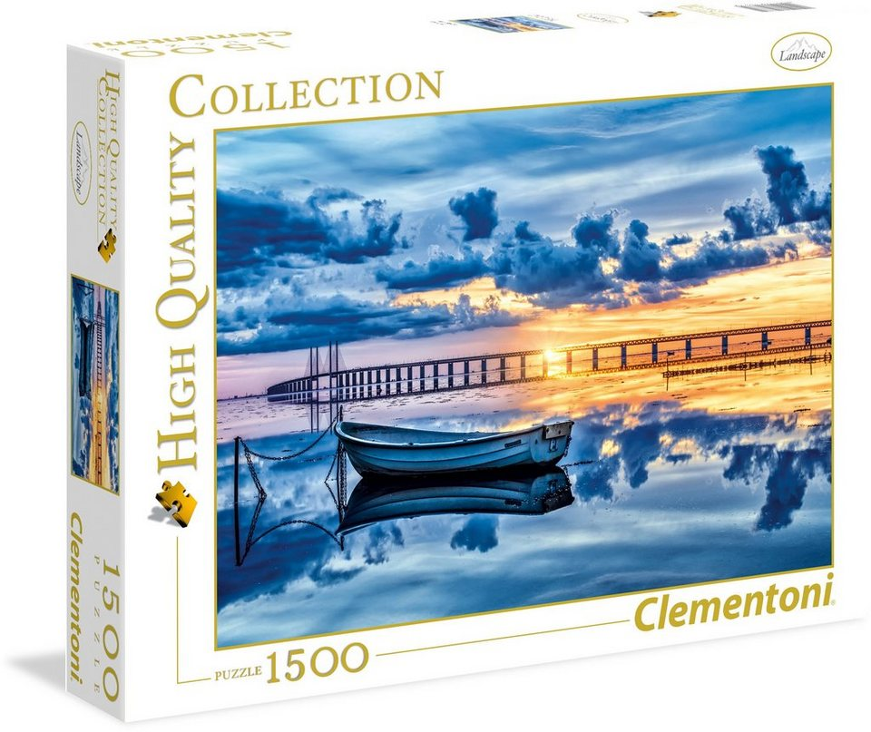 Clementoni Puzzle, 1500 Teile, »Öresund«