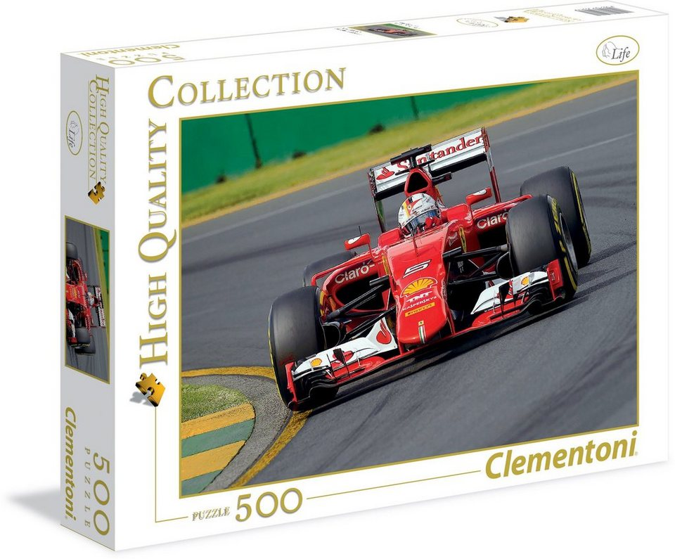 Clementoni Puzzle, 500 Teile, »Roter Bolide«
