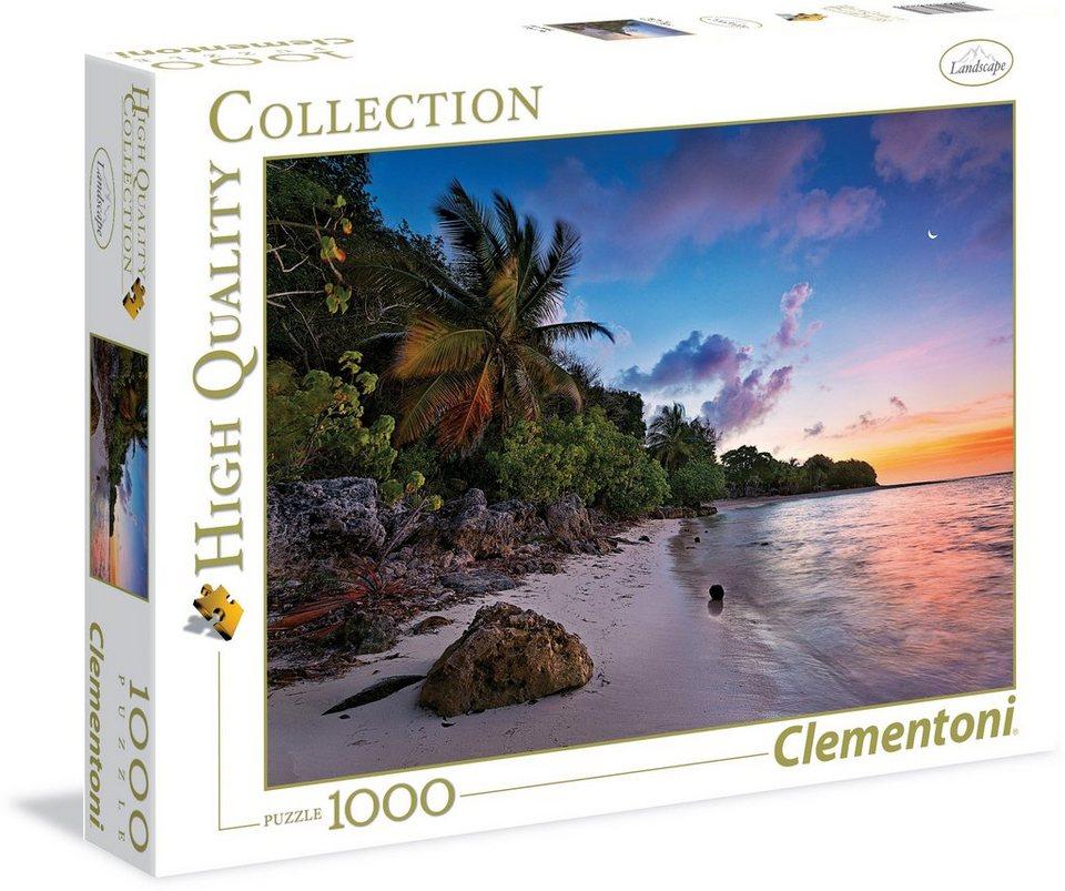 Clementoni Puzzle, 1000 Teile, »Tropisches Idyll«