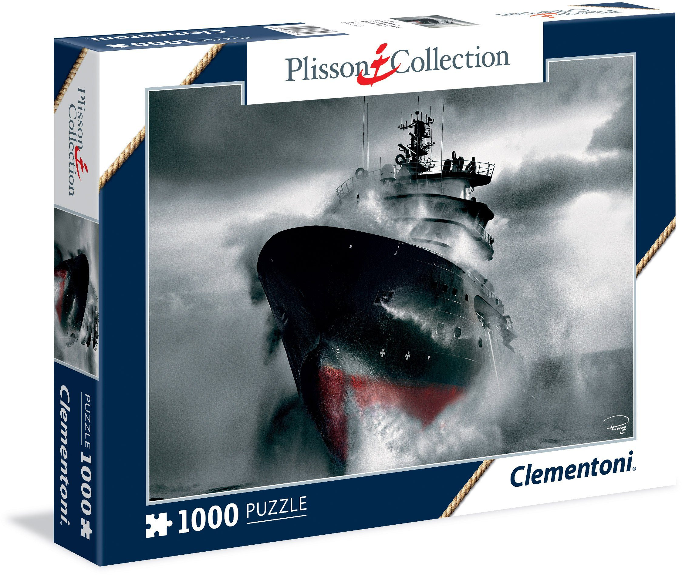 Clementoni Puzzle, 1000 Teile, »Rescue at the sea«