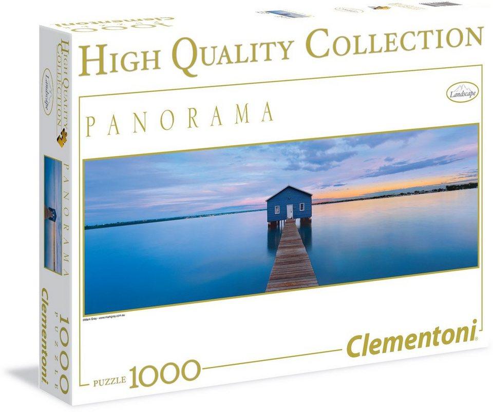 Clementoni Puzzle, 1000 Teile, »Blaue Ruhe«
